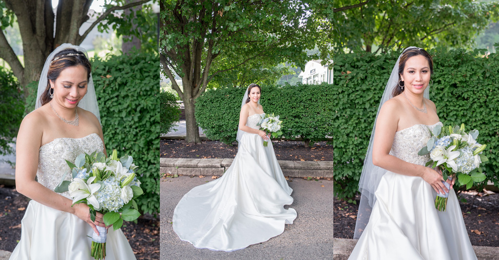 bride portraits sunnybrook ballroom pottstown