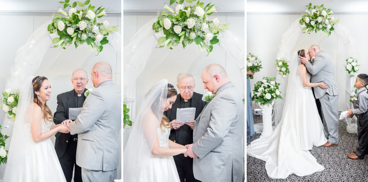 indoor ceremony at Sunnybrook Pottstown PA photographer
