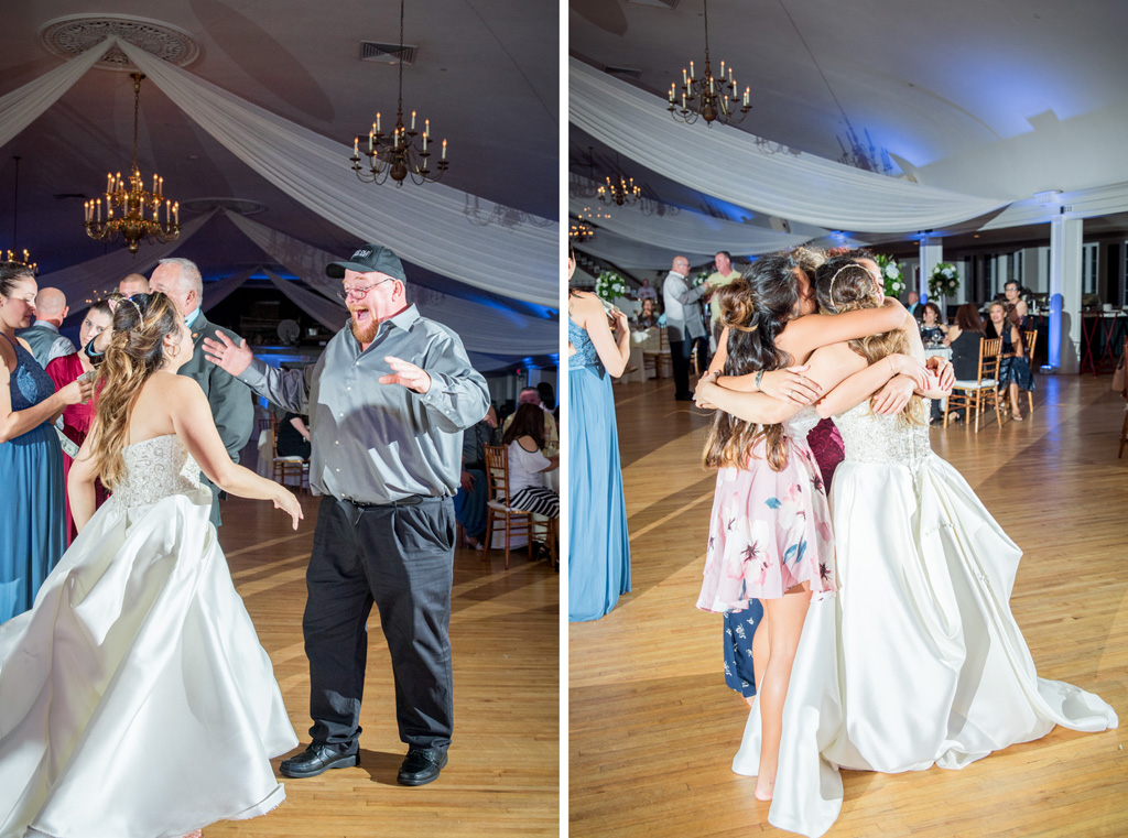 dad and bride dancing wedding photos