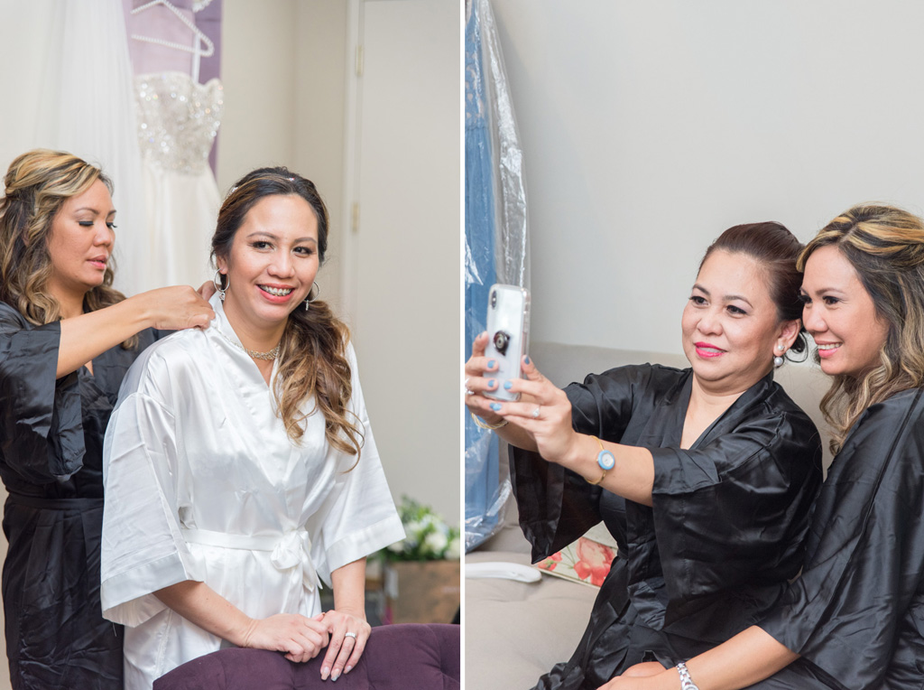 bridal prep sunnybrook ballroom pottstown photographer