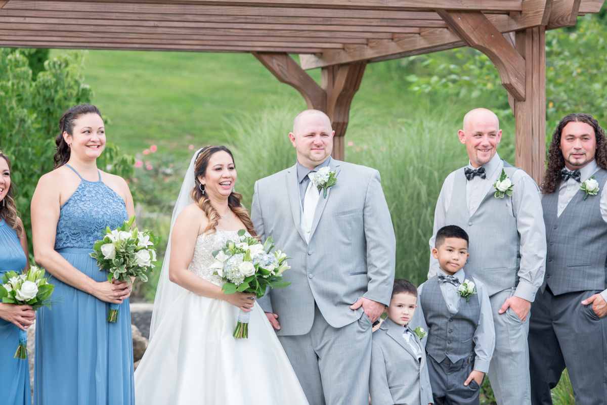 Bridal party photos Sunnybrook pottstown PA