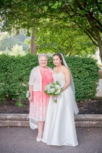 bride with grandma photos sunnybrook pottstown