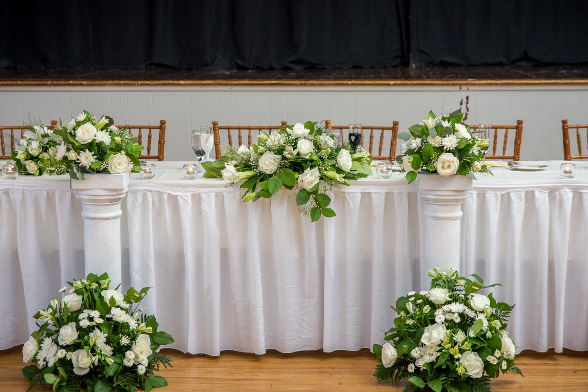 Sunnybrook ballroom pottstown wedding limerick florist wedding flowers