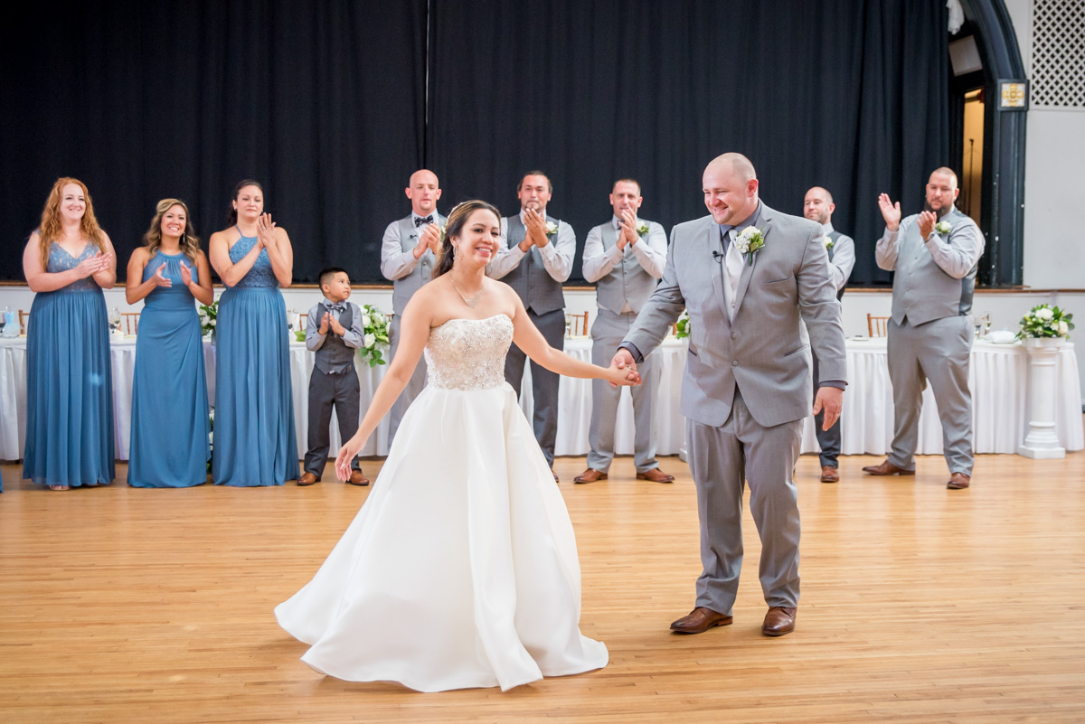 bride and groom bride and groom first dance sunnybrook ballroom wedding