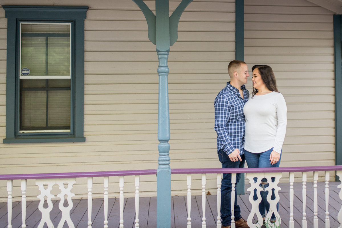 Pottstown engagement photographer Saint Peters photo spots