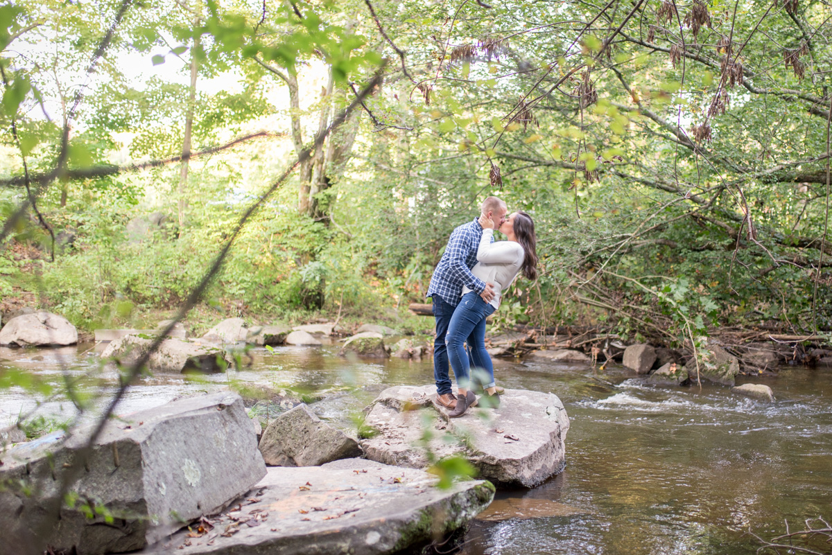French Creek engagement photos cheater county photographer