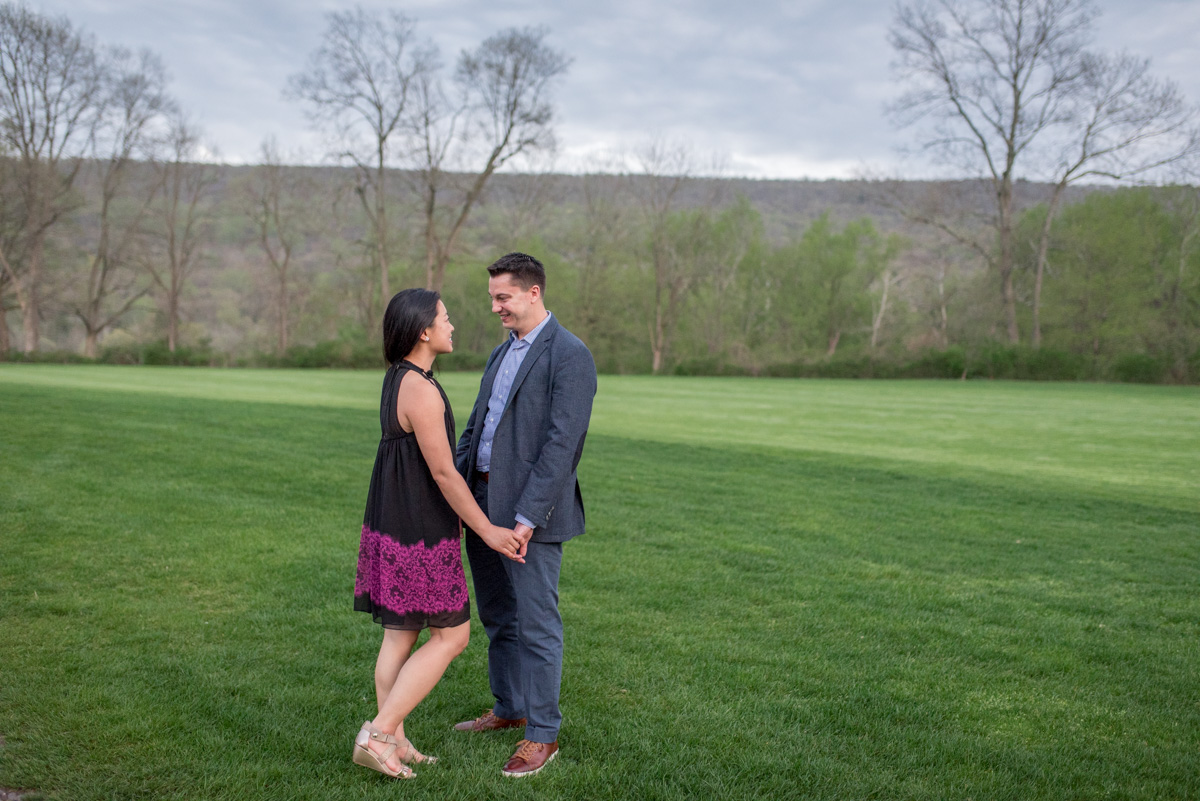 pocono proposal at shawnee inn golf course