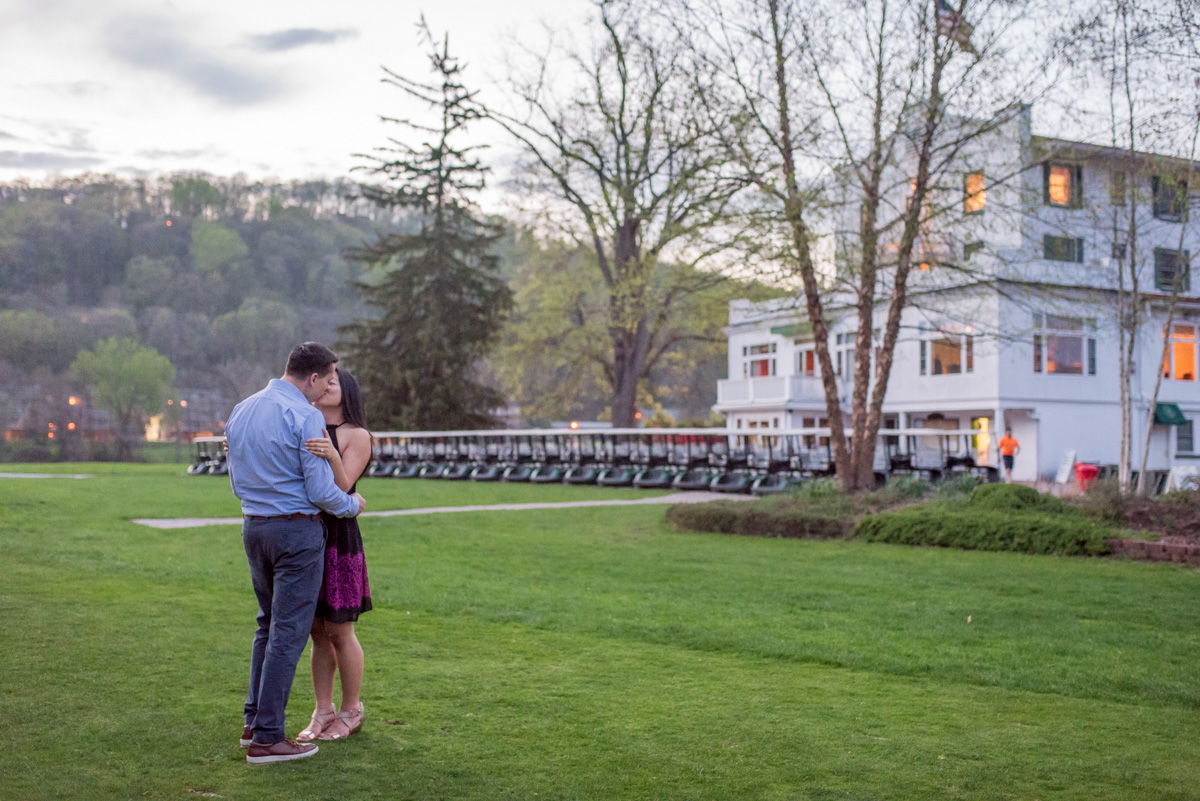 shawnee inn photography engagement session