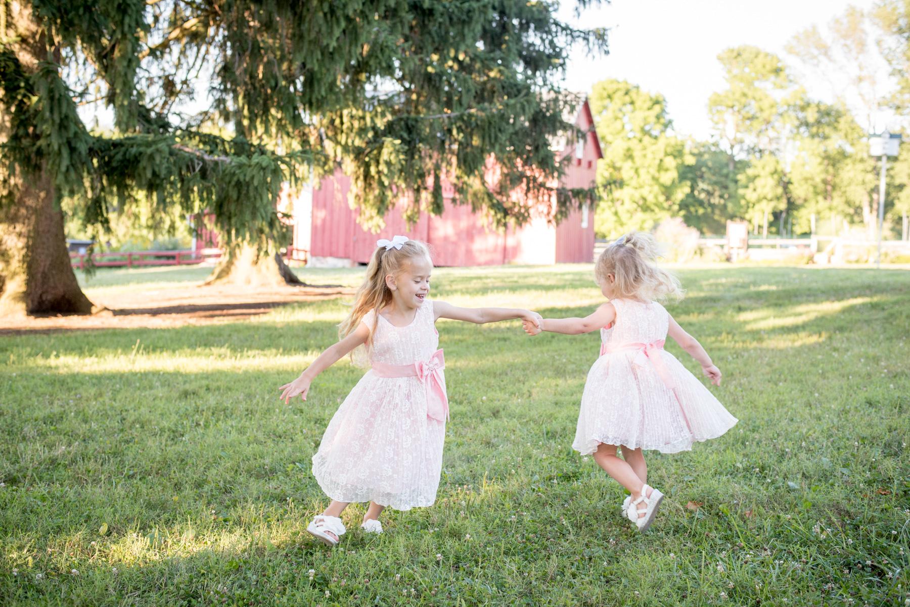 summer session in PA springton manor farm family photos