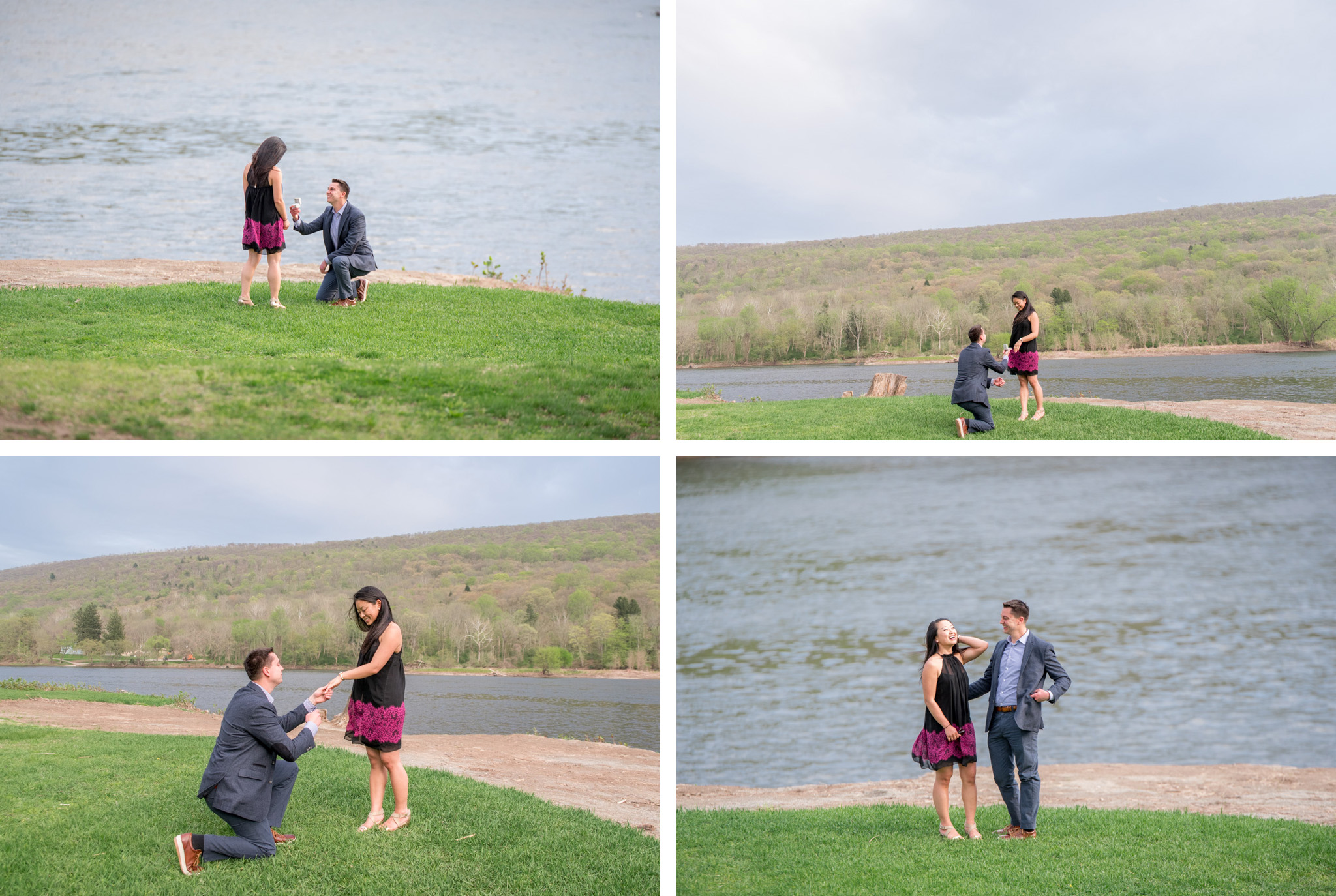 suprise proposal at shawnee inn poconos PA