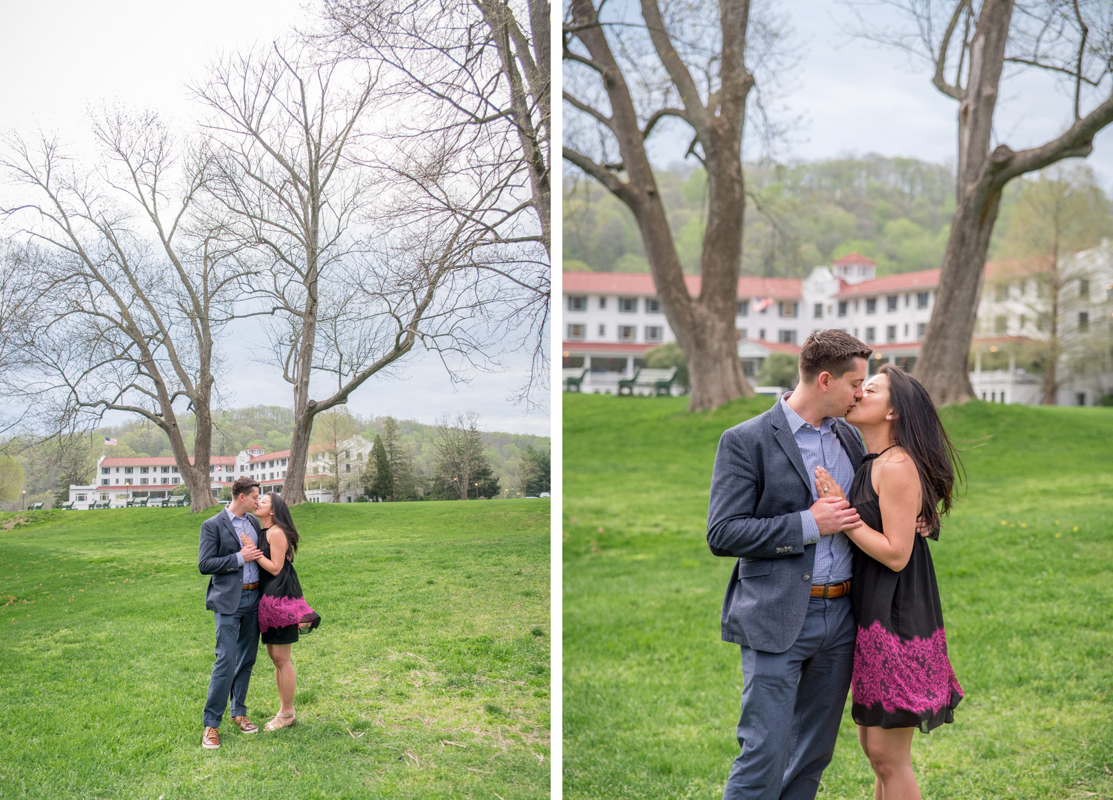 Pocono proposal at Shawnee Inn