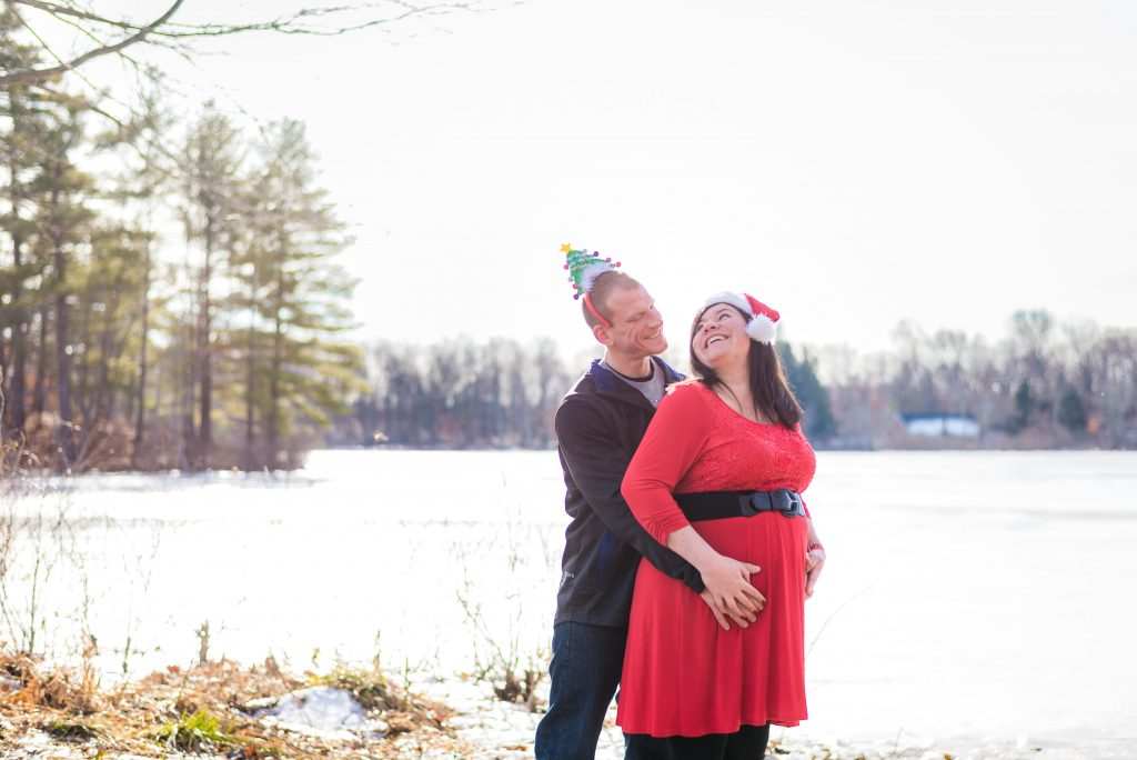 pottstown maternity photographer holiday photos